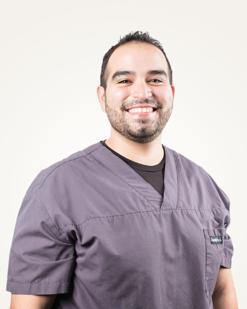 Photograph of Eric Lovato, Dental Assistant